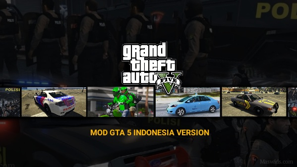 GTA 5 mod Indonesia