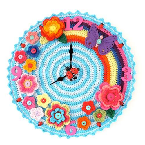 Cómo tejer un reloj tejido a crochet.