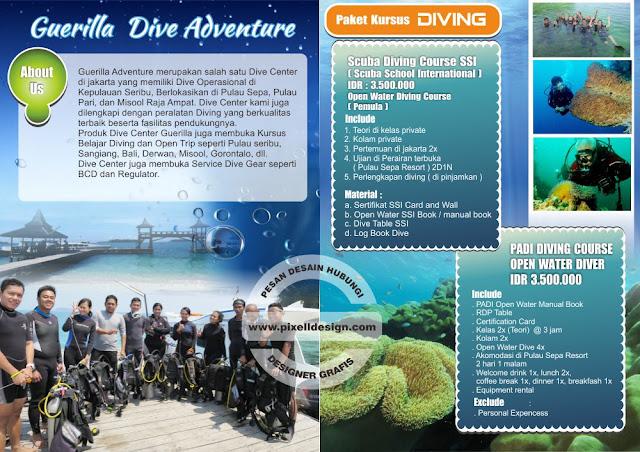 Iklan Kursus Menyelam Diving