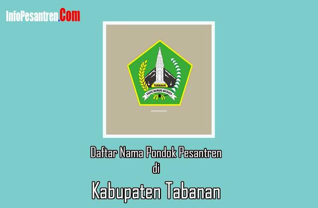 Pondok Pesantren di Kabupaten Tabanan
