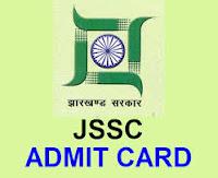 JSSC Admit Card