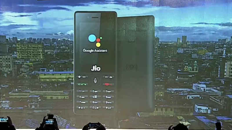 Jio Phone To Get Google Assistant For The First Time Techphlie