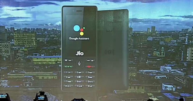 Jio Phone To Get Google Assistant For The First Time