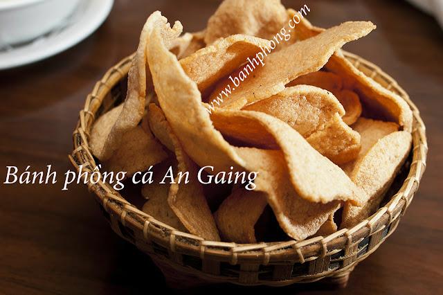 Bánh phồng cá - Đặc sản Tết An Giang