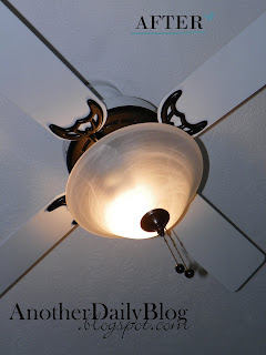 Another Daily Blog Krylon Oil Rubbed Bronze Ceiling Fan
