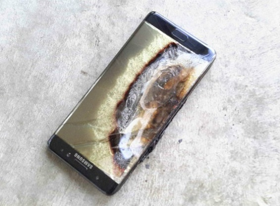 "Samsung: Trying to hide explosions ""safe» Galaxy Note 7"