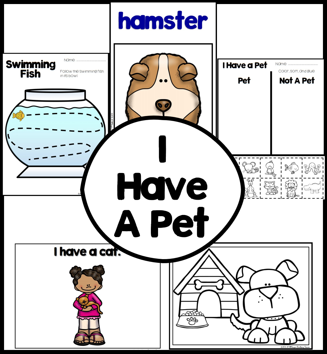 Learn With Songs I Have A Pet