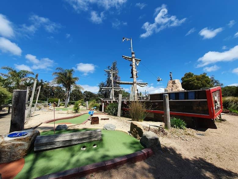 Pirate Pete's Mini Golf Adventure