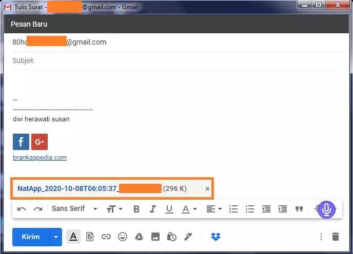 Cara Mengirim Pesan Audio di Gmail-6