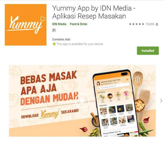 aplikasi-memasak-yummy-app