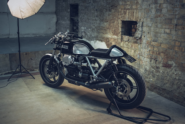 Moto Guzzi Le Mans 1000 By Side Rock Cycles Hell Kustom