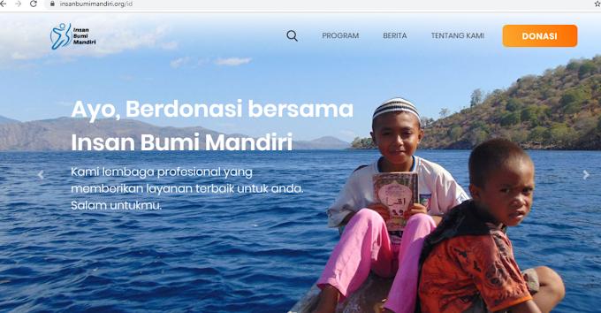 Bersama Insan Bumi Mandiri Membangun Pedalaman Indonesia