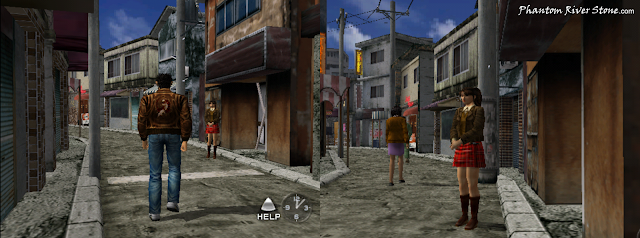 Izumi Takano on duty in What's Shenmue