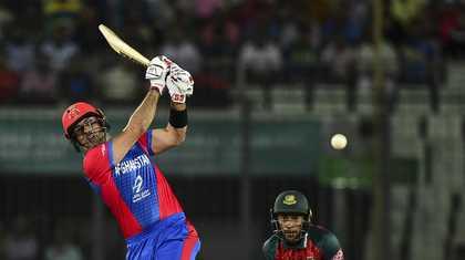 Nabi and Mujeeb stars of Afghanistan win against Bangladesh