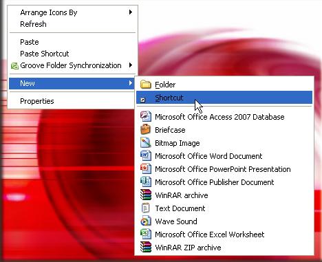 Open Microsoft Office - Open Microsoft PowerPoint - Open Microsoft