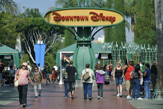 Quantidade de dias para turistas pelos parques em Anaheim
