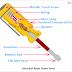 Electrical Neon Tester Diagram, Working Principle, Circuit