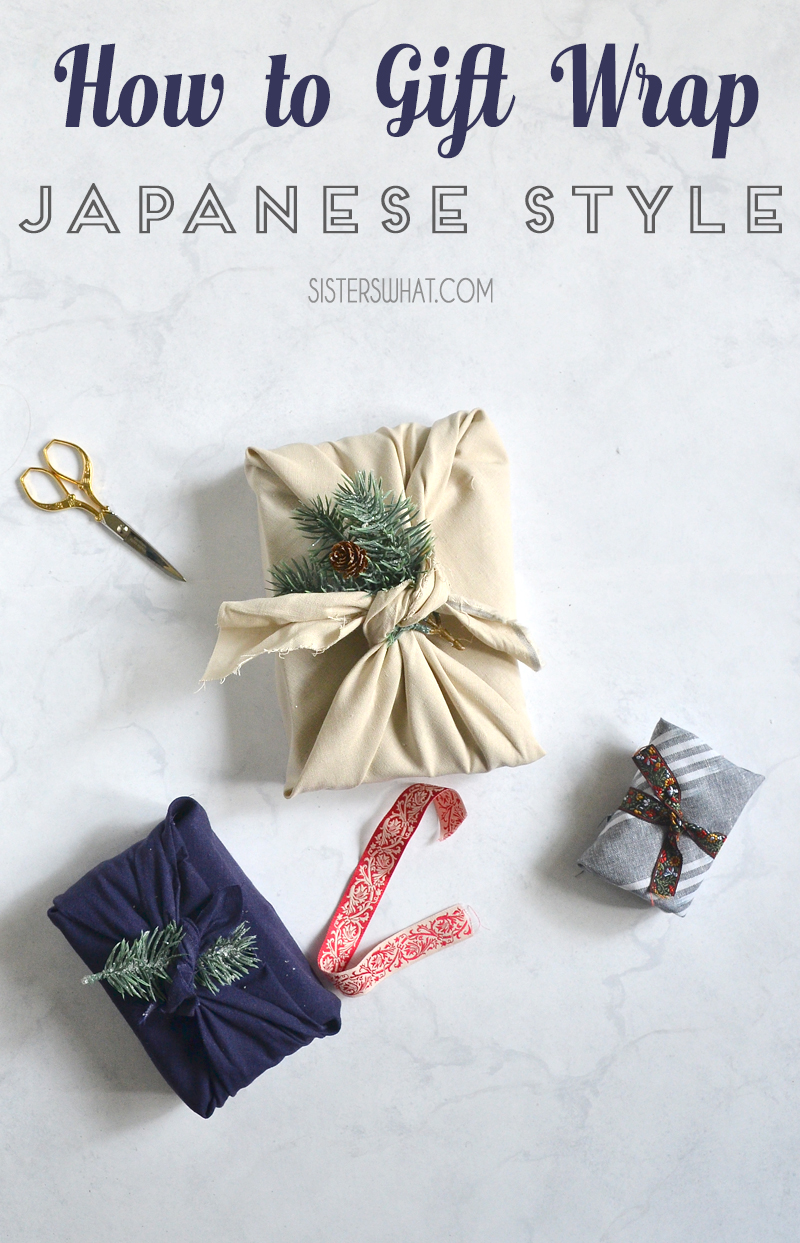 how to gift wrap Japanese Style