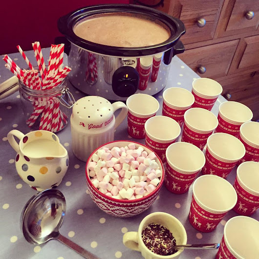 Hot Chocolate Station!
