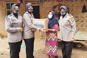 Jelang HUT Polwan ke-72, Baksos Polres Pandeglang di Kampung Keroncong