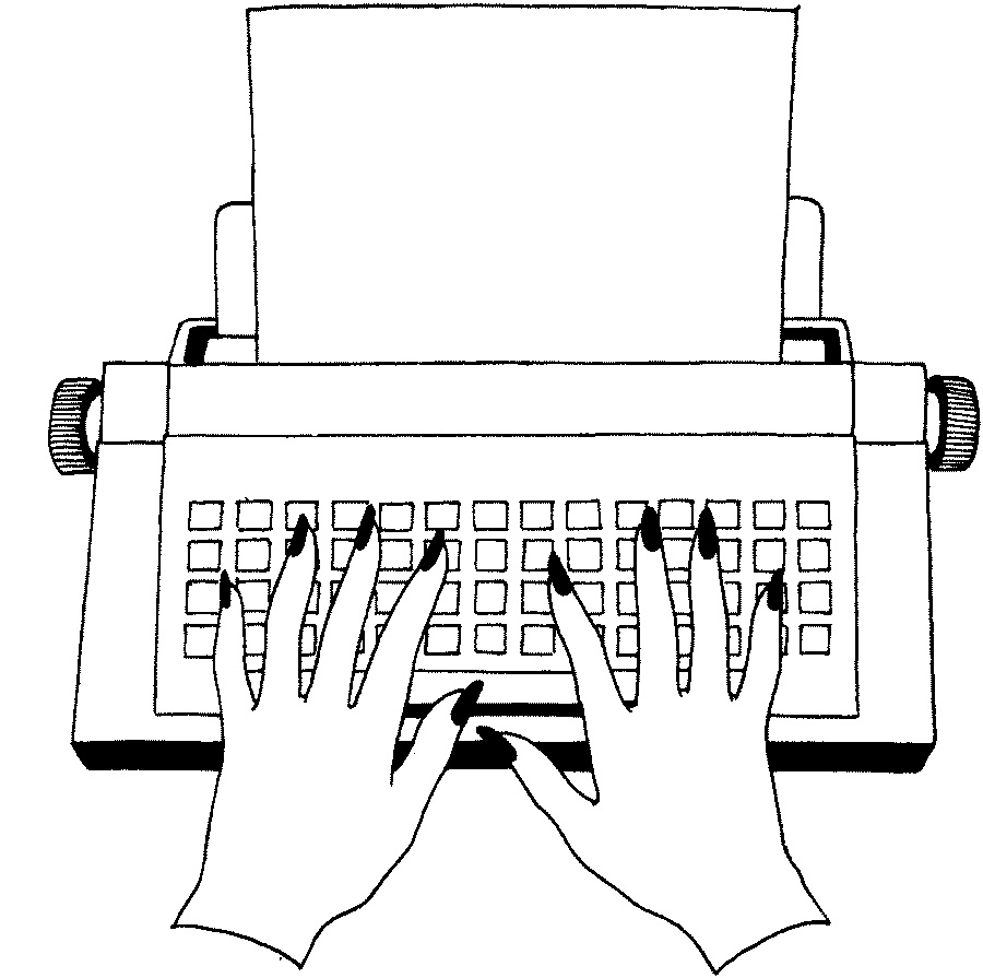 A Life in Pages: Typewriters are in again
