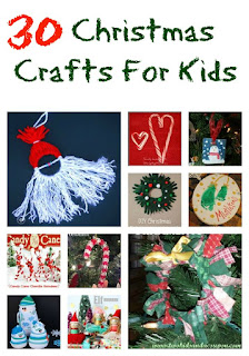30 Christmas Crafts for Kids - Just 2 Sisters - Leroylime feature