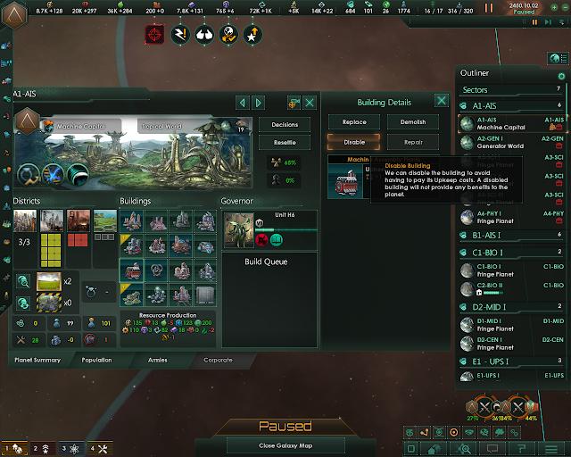 Population Control | Stellaris: MegaCorp screnshot