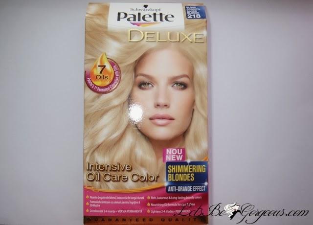 Vopsea Palette Deluxe Blond Argintiu Părerea Mea Despre