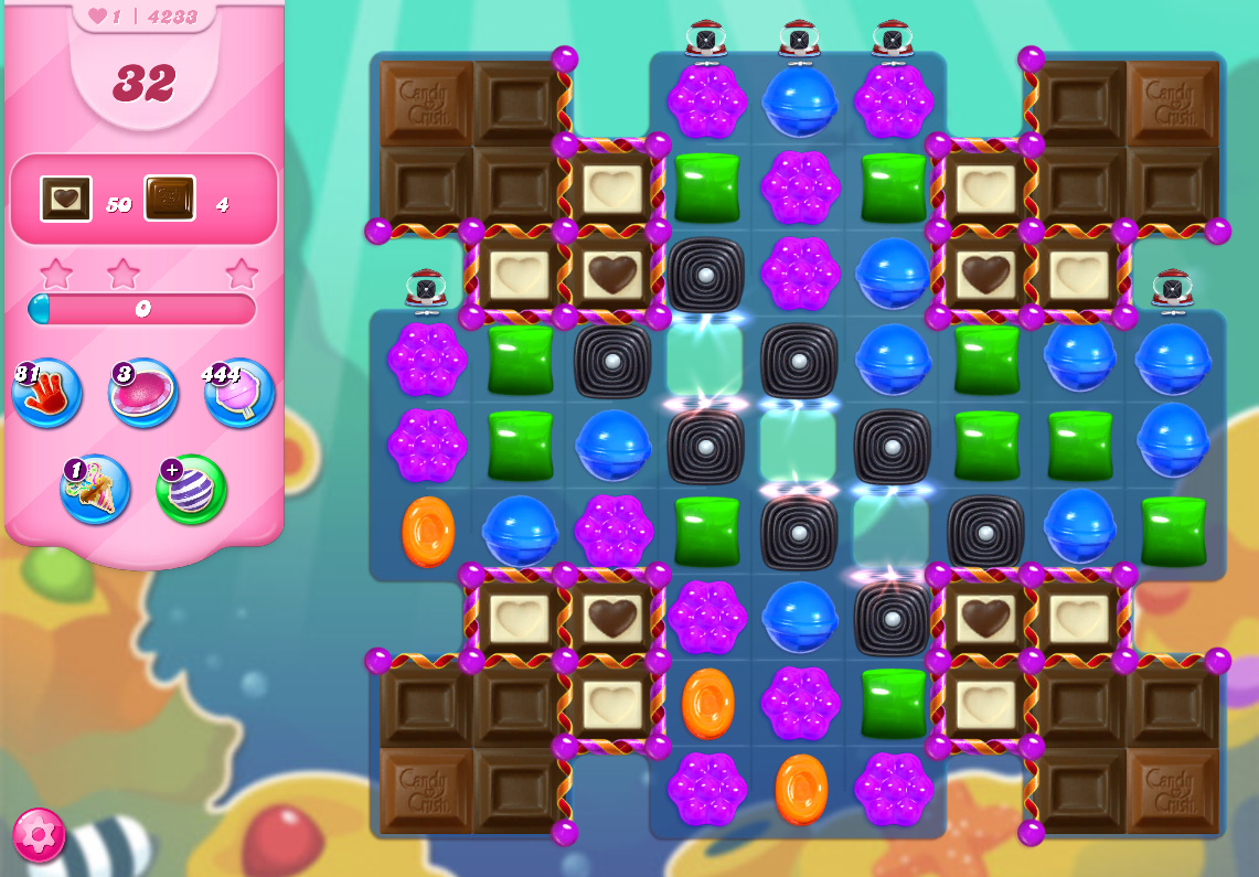 Candy Crush Saga level 4233