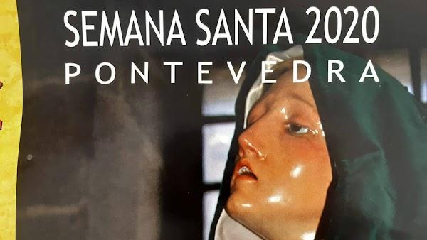 Programa con Horarios e Itinerarios Semana Santa en Pontevedra 2020