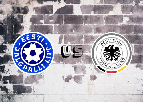 Estonia vs Alemania  Resumen & Partido Completo