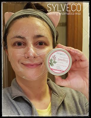 Sylveco - Peeling enzimatico viso - applicazione