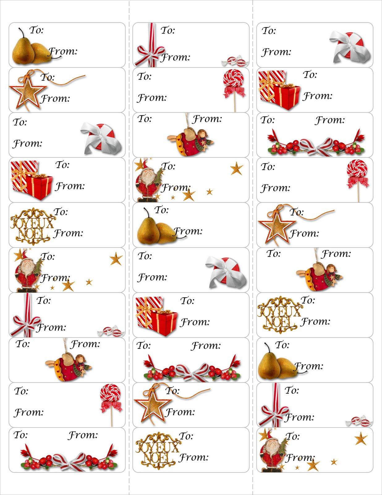 True Taggin Love Free Christmas T Tag Printable
