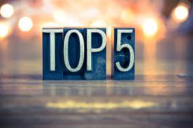 Top 5 Smartphones in 2018