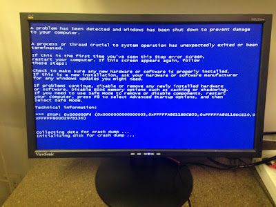 Cara Mengatasi Blue Screen Windows 7 Saat Shutdown / Restart - WandiWeb