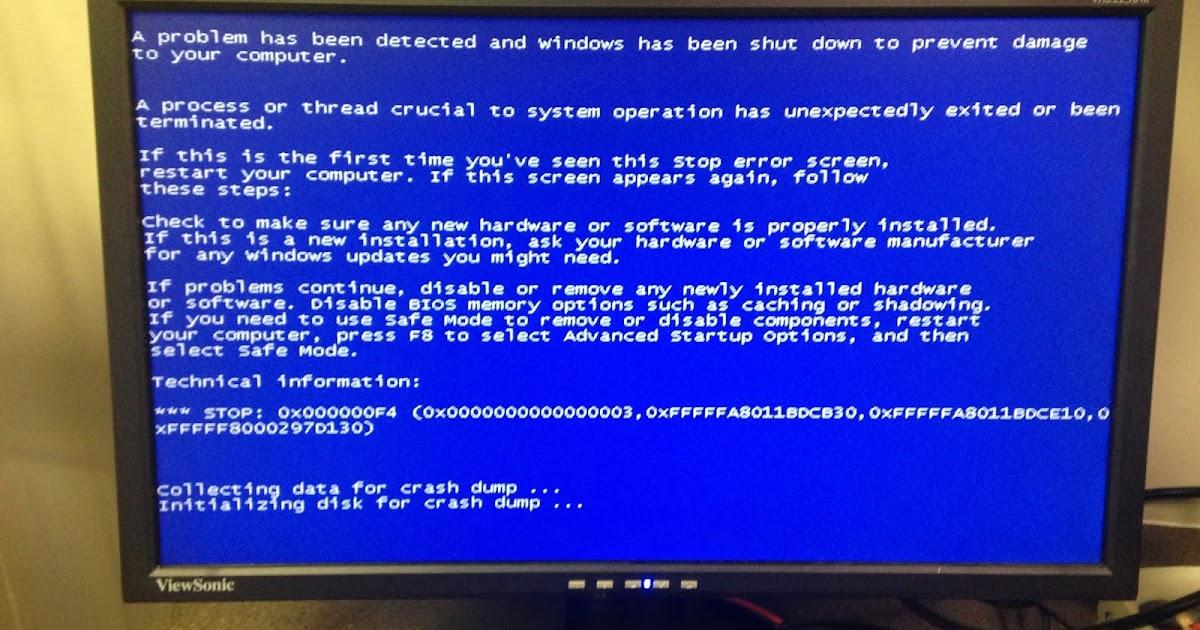 Cara Mengatasi Blue Screen Windows 7 Saat Shutdown Restart
