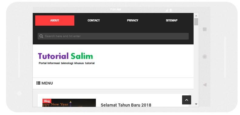 Blog Responsive Tuntutan Blog Jaman Now