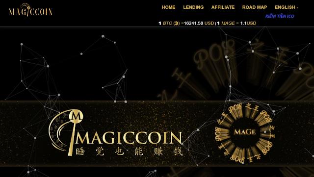Dự Án Đầu Tư Magiccoin - Lending lãi suất 50% tháng