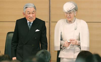 abdiação do imperador Akihito ocorre em 30 de abril