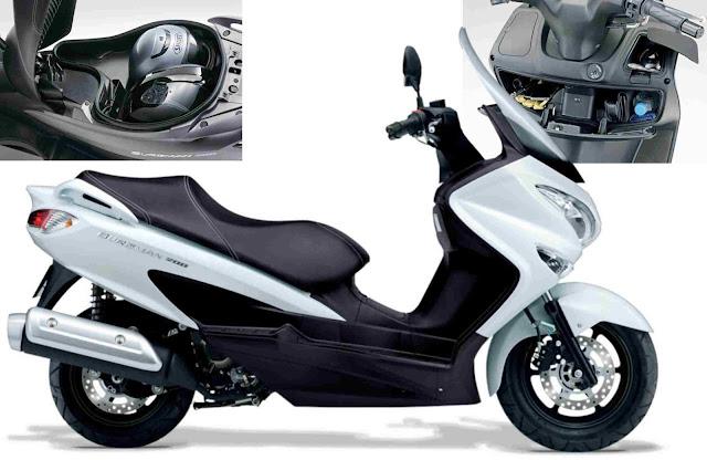 Suzuki Burgman 200 ABS Skutic untuk turing