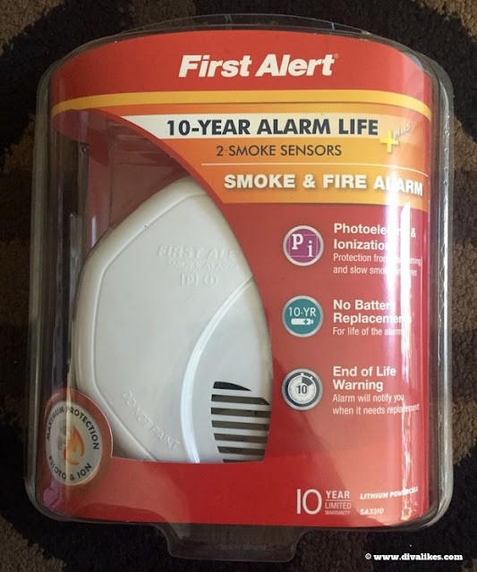 First Alert Smoke Fire Alarm