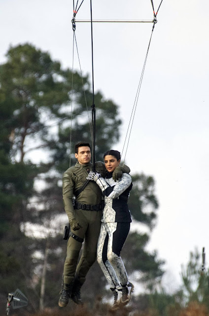 Priyanka Chopra – 'Citadel' set filming in London