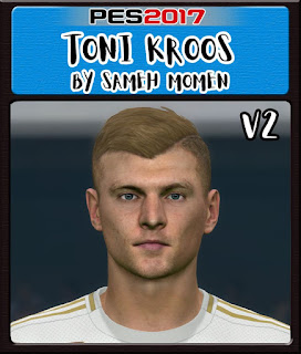 PES 2017 Faces Toni Kross by Sameh Momen