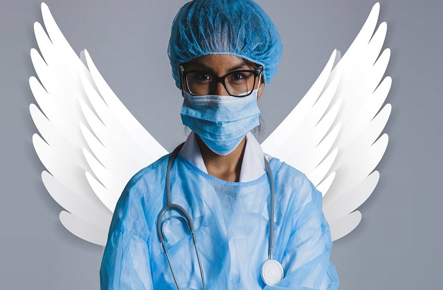 nurses are angels for life and health