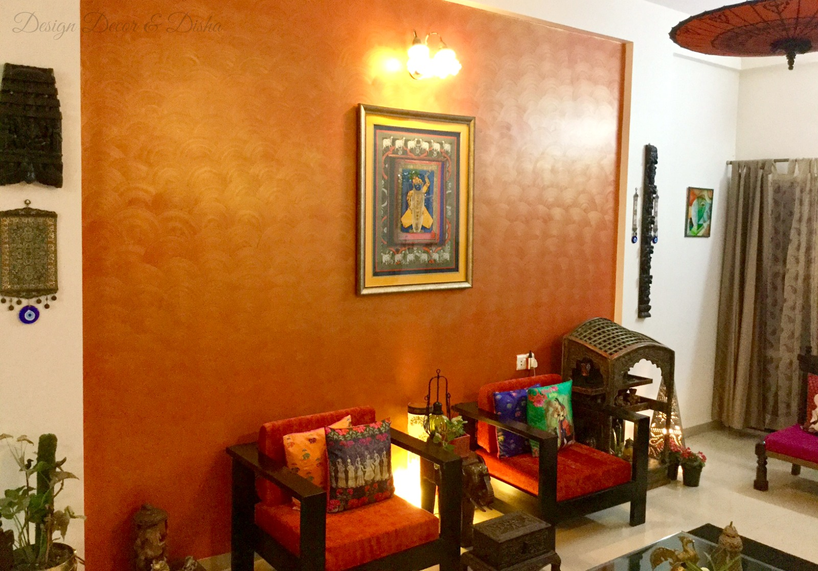 Indian Style Decor Design Decor And Disha An Indian Design And Decor Blog Wall