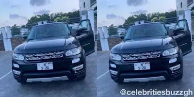 Good News: Nana Aba Anamoah's Birthday Range Rover Gift Has Finally Being Registered