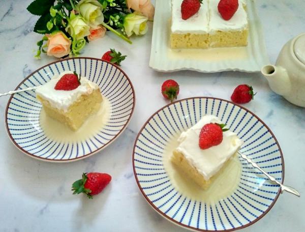 Resep Cake Siram Susu