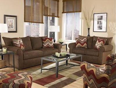 Decoraciones y mas elegantes salas color tierra en el 2013 for Decoraciones para salas