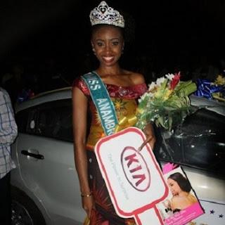 Miss Anambra Chidimma Okeke,