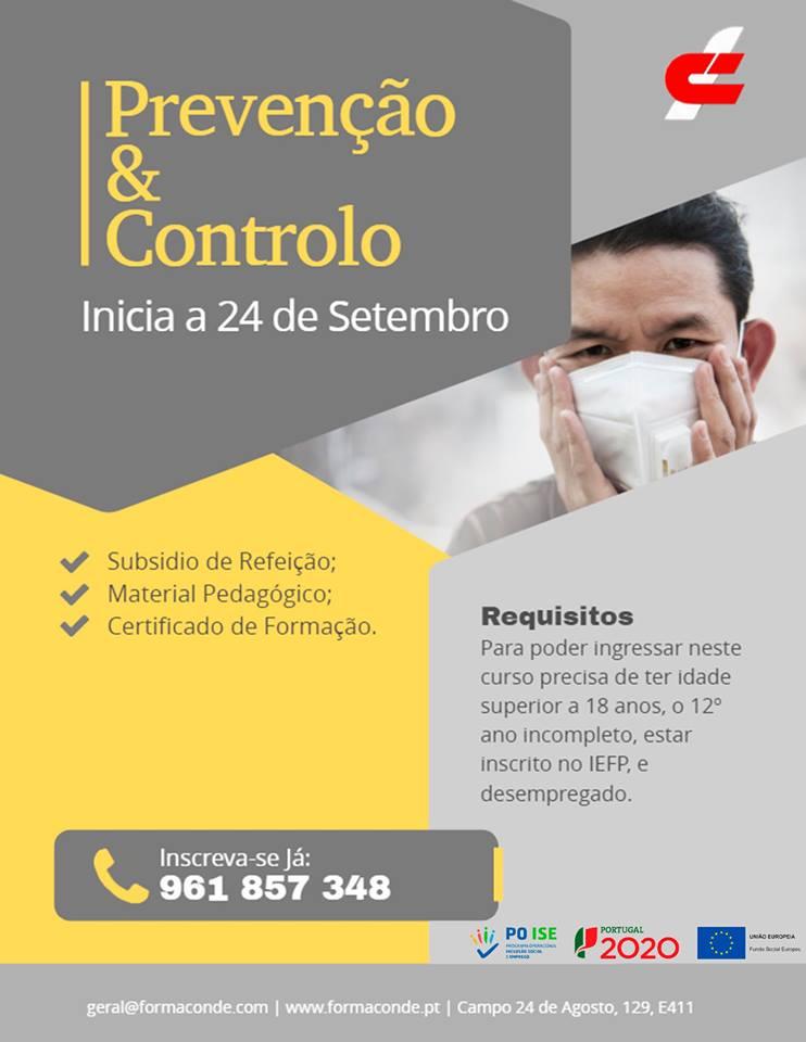 Porto – Curso gratuito de Prevenção e controlo na infeção na prestação de cuidados pessoais e à comunidade
